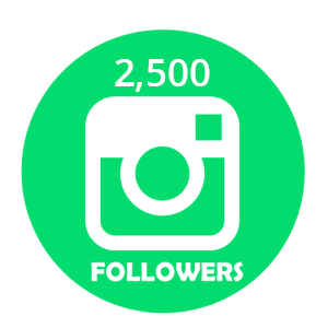 buy 2500 instagram followers